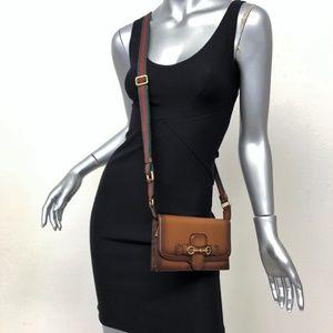 Gucci Lady Web Convertible Wallet Mini Crossbody